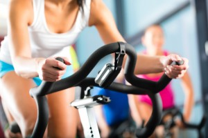 Bike trainer workout